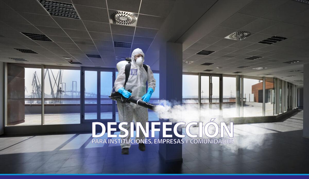 Desinfección y limpieza en Madrid